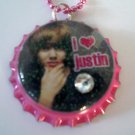I LOVE JUSTIN Necklace