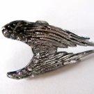 Angel Wings Ring (Dark Silver)