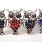 Hoot Hoot Owl Rhinestone Ring (Many Colors!)