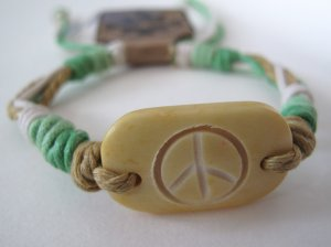 Peace Bracelet (Yellow)