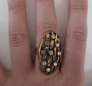 Pretty Girl Rock Ring (Gold)