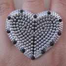 Protect my Heart Ring (Black)