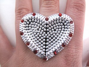 Protect my Heart Ring (Red)