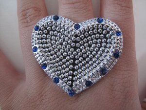 Protect my Heart Ring (Blue)