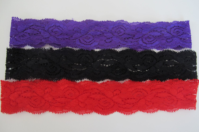 Lace Headbands (3)
