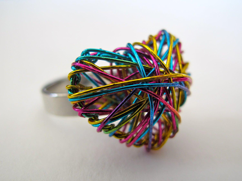 Heart of Yarn Ring