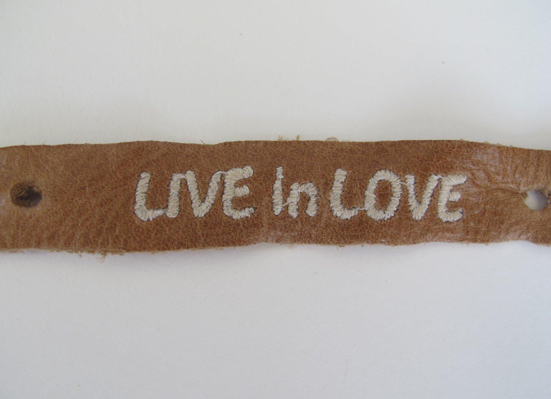 Live in Love Bracelet