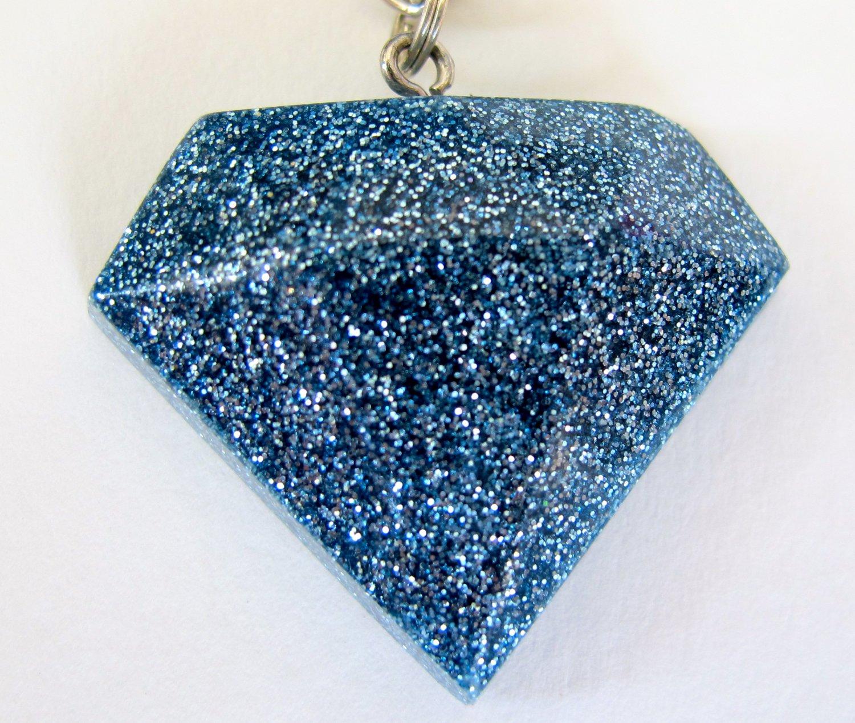 'Diamond' Glitter Necklace