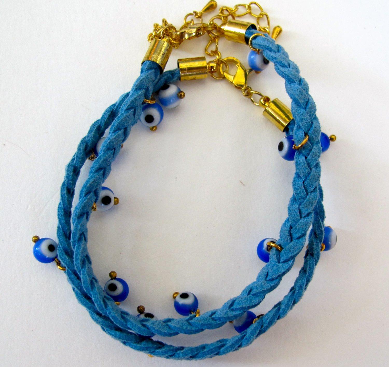 Evil Eye Bracelet (Blue)
