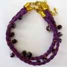Evil Eye Bracelet (Purple)