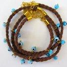 Evil Eye Bracelet (Brown)