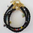 Evil Eye Bracelet (Black)