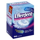 Efferdent Anti-Bacterial Denture Cleanser, 90 Tablets