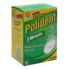 Polident 3-Minute Antibacterial Denture Cleanser, 84ct