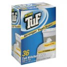 Ultra TuF Tall Kitchen Trash Bags & Ties, 36ct (Compare to Hefty)