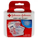 Johnson & Johnson First Aid To Go! Essential First Aid Kit