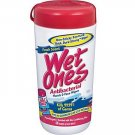Wet Ones Antibacterial Hands & Face Wipes, Fresh Scent, 40ct Canister