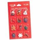 Merry Brite 12ct Mini Ornaments for Christmas Tree