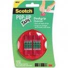 Scotch Pop-Up Tape Deskgrip Dispenser, Cat. 94-G (Hot Pink)