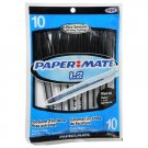 Paper♥Mate 1.2 Ultra Smooth Writing System Ball Point Pen, 10pk, Black Ink, Medium 1.2mm, #70616