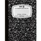 CVS/Caliber Composition Book, Wide Ruled Notebook, 100 Sheets / 200 Pages
