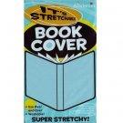 It's Academic Stretchable Washable Fabric Book Cover (Aqua Blue)