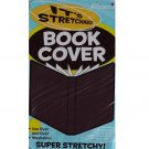 It's Academic Stretchable Washable Fabric Book Cover (Black)