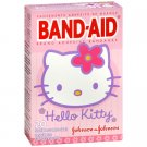Band-Aid Brand Adhesive Bandages, 20 Assorted Sizes (Hello Kitty)