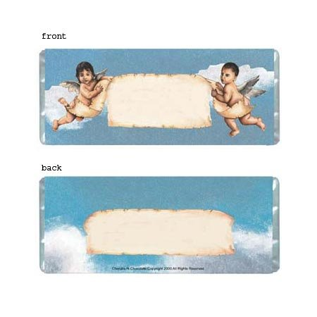 Cherubs Personalized Candy Bar Wrapper Only AP003