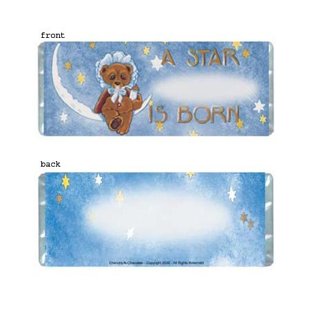 A Star Is Born 2 Personalized Candy Bar Wrapper Only BA002