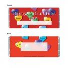 Valentine Personalized Candy Bar Wrapper HD003-C