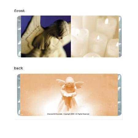 Angelic Personalized Candy Bar Wrapper Only SE016