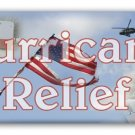 Hurricane Relief Personalized Candy Bar Wrapper Only FR005
