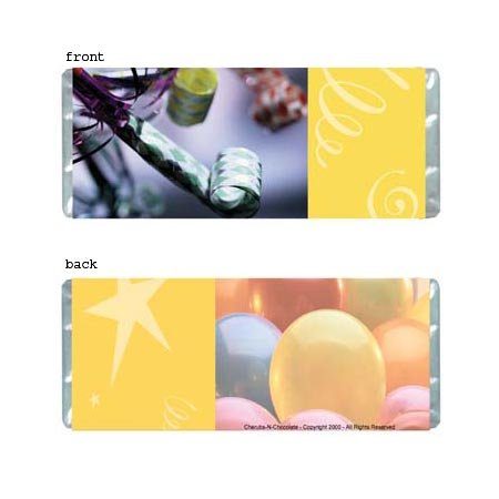 Celebration Personalized Candy Bar Wrapper Only AP014