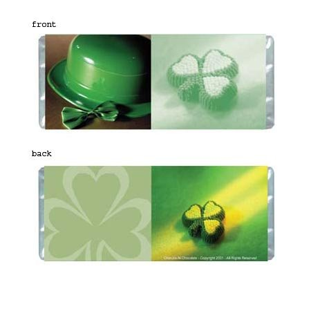 Irish Personalized Candy Bar Wrapper Only HD010