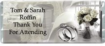 Wedding Sophistication Personalized Candy Bar Wrapper Only WD013