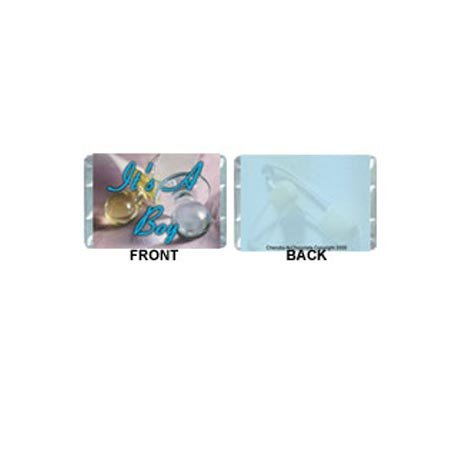 Mini-Boy Personalized Candy Bar Wrapper MN003