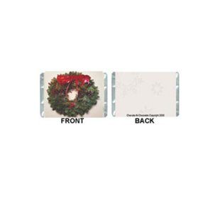 Mini-Holidays Personalized Candy Bar Wrapper MN005