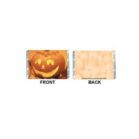 Mini-Halloween Personalized Candy Bar Wrapper MN009