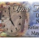 Time Flies Personalized Candy Bar Wrapper Only SE029