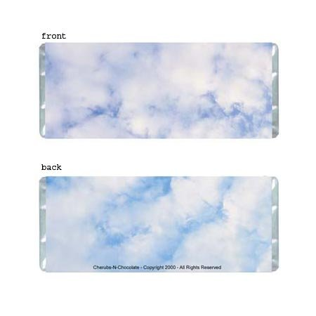 Clouds Personalized Candy Bar Wrapper Only AP036