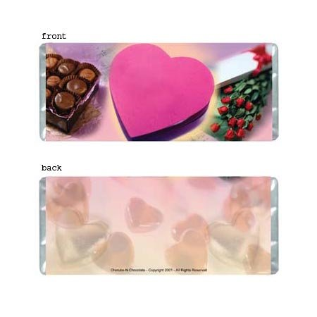Lots Of Love Personalized Candy Bar Wrapper Only AP046
