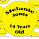 Smiley Personalized Candy Bar Wrapper AP047-C