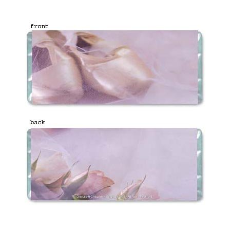Ballet Personalized Candy Bar Wrapper Only AP054
