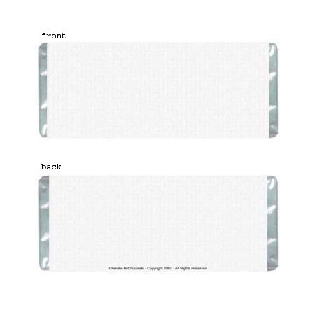 Texture Personalized Candy Bar Wrapper Only AP067