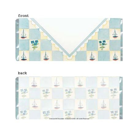 Boy Envelope Personalized Candy Bar Wrapper BA028-C