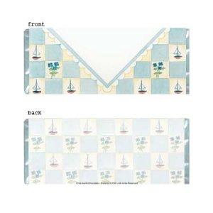Boy Envelope Personalized Candy Bar Wrapper BA028-C