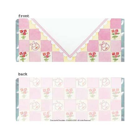 Girl Envelope Personalized Candy Bar Wrapper BA029-C