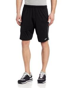 ASICS Men's Kalani 9-Inch Tennis Shorts - Black/White, XX-Large