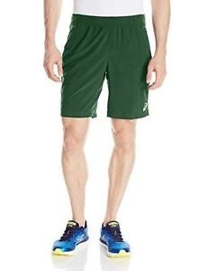 ASICS Men's Club Woven 9-Inch Tennis Shorts - Oak Green, XX-Large